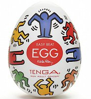 Masturbační vajíčko Tenga Egg Dance Keith Haring Single